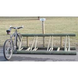 Parcs à vélos bois 6 places