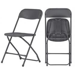 Lot de 8 chaises pliantes polyéthylène Wizz