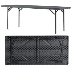 Table pliante assemblable polyéthylène Q+ 198,2x91,4 cm