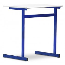 Tables scolaires Margot mélaminé PVC 70x50 cm T4 à T7