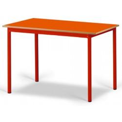 Table maternelle Elise stratifié pieds métal 120x60 cm TC à T3