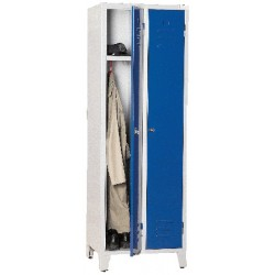 Armoire vestiaire monobloc industrie propre 2 cases