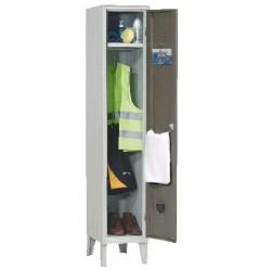 Armoire vestiaire monobloc industrie propre 1 case
