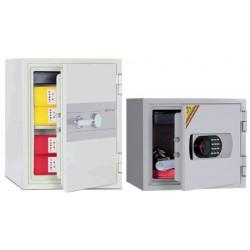 Coffre ignifugé 37L à clé pour supports papier H51,4xL40,4xP44 cm