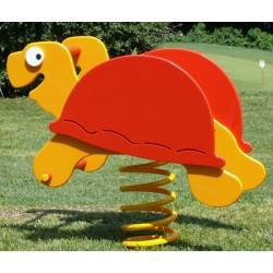 Jeux à ressort polyéthylène la tortue (2 à 12 ans)