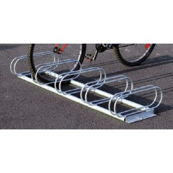 Support vélos Correze 5 places galva L153,4xP51,5 cm
