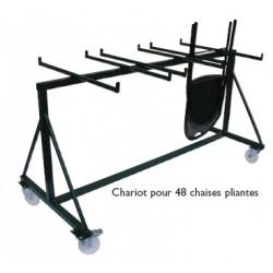 Chariot pour 48 chaises pliantes