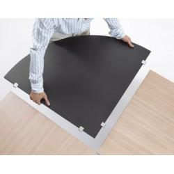 Plan de jonction table Oxygène 70x70 cm