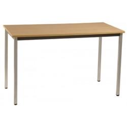 Table de réunion modulable 140x70 pieds carrés
