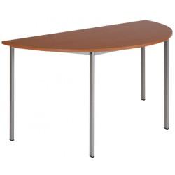 Table de réunion Sampi demi-ronde ø 120 cm