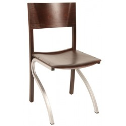 Chaise Padoue assise et dossier bois T6