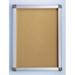Vitrine Pégase 101x95 cm fond liège 12 A4