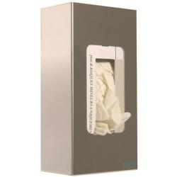 Distributeur inox pour 1 boite de gants jetables