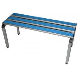 Banc aluminium et stratifié L200 cm