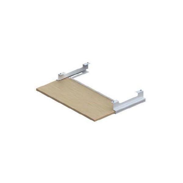 Tablette clavier telescopique L57xP22 cm