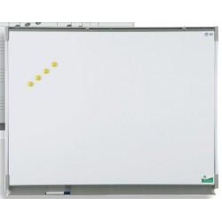 Tableau mural émaillé NF éducation E3 ( blanc feutre ) 100x150 cm