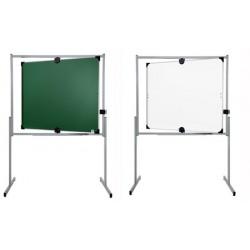 Tableau pivotant horizontal et vertical 100x120 cm mixte