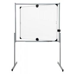 Tableau pivotant horizontal et vertical 100x120 cm 2 face blanches