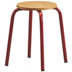 Tabouret assise ronde H45 cm