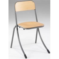 Chaise 4 pieds empilable et appui sur table NF Laura AP