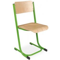 Chaise scolaire empilable et appui sur table Anne T4 a T7