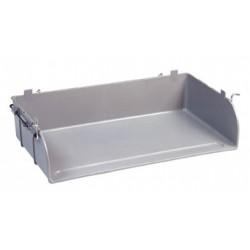 Lot de 4 casiers metal pour tables scolaires Jeanne