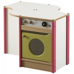 Module machine à laver et rangement L79,5xP68,5xH55 cm