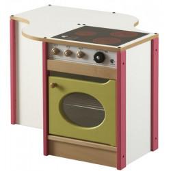 Module réfrigérateur et cuisinière L79,5xP68,5xH55 cm