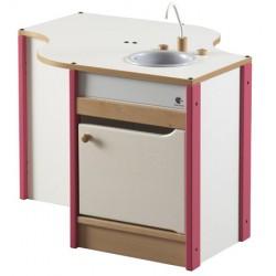 Module évier et lave vaisselle L79,5xP68,5xH55 cm