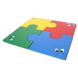 Lot de 4 tapis puzzle