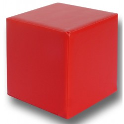 Pouf cubique 30x30 cm assise H30 cm