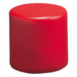 Pouf cylindrique diamètre 30 cm assise H30 cm