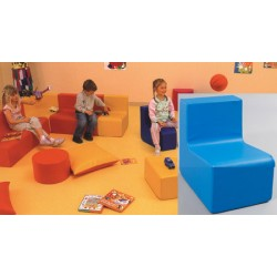 Chauffeuse mousse petits assise H24 cm