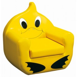 Fauteuil canard assise H25 cm