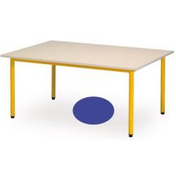 Table maternelle Manon ovale 120x90 cm T1 a T3