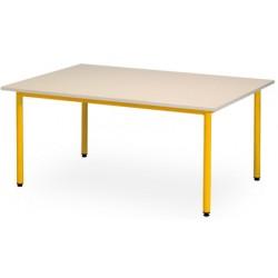 Table maternelle Manon 160x80 cm T1 a T3