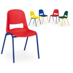 Chaise maternelle empilable Elise T1 a T3