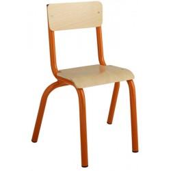 Chaise maternelle 4 pieds NF T1 à T3