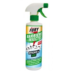 Lot de 6 flacons 500ml barriere à insectes formule renforcee Fury