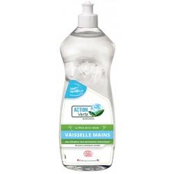 Lot de 12 flacons de 1L liquide vaisselle main Ecolabel Action Verte