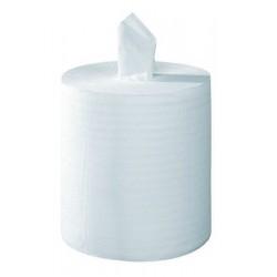 Carton de 6 bobines à dévidage central Tork Reflex M4 blanc 2p 450f 19,4 x 33,5 cm
