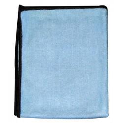 Lot de 5 lavettes micro-classic evolution 30 x 40 cm bleue