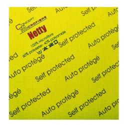 Sachet de 5 lavettes netty auto-protegee jaune