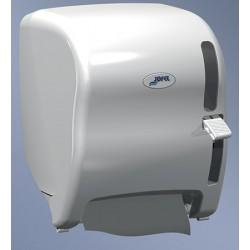 Distributeur d'essuie-mains semi automatique ABS blanc 200 m