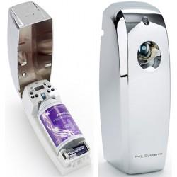 Diffuseur de parfum LED automatique chromé 270 ml