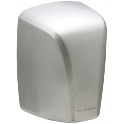 Sèche-mains à grande vitesse 1600 W inox brossé