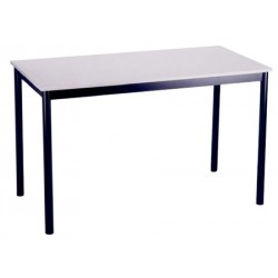 Table Comité plateau stratifié ép 24 mm chant ABS Diam 120 cm T1 à T6